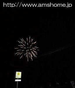 昨夜は、成田山の花火でした